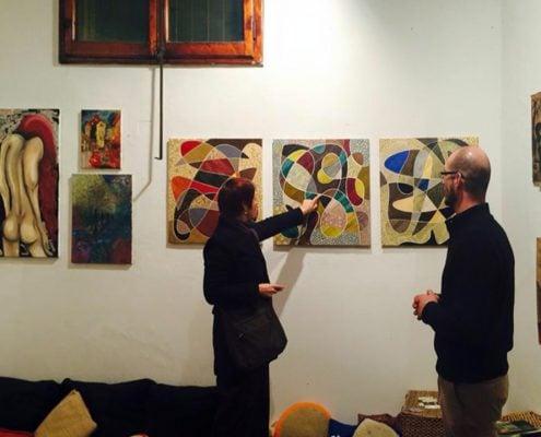 Le Mille Facce dell'Artista. Mostra collettiva, Puzzle Firenze, Italia, dicembre 2014