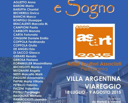 Materia, Colore e Sogno - Mostra Collettiva degli Artisti di Asart, Viareggio, Italy
