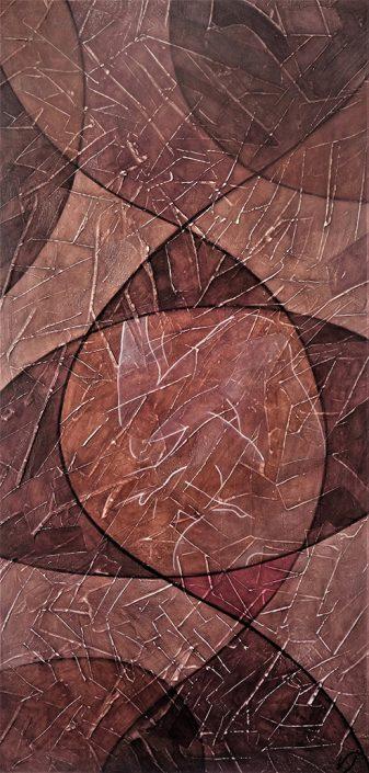 Vanessa Thyes, Passagio (2017), 120 x 60 cm, tempera on canvas