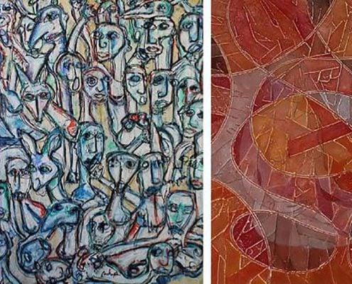 22.4. - 19.5.2017 | Tre differenti modi operativi nel contemporaneo | Mostra collettiva in Galleria LIBA, Pontedera, Italia
