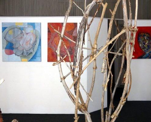 Tre differenti modi operativi nel contemporaneo. Mostra colletiva in Galleria LIBA, Pontedera, Italia, maggio 2017
