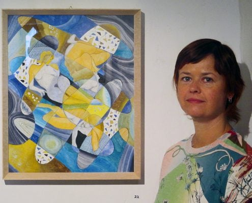 Artischock Exhibition. Juried group show of the association Artischock, Kuesnacht, Switzerland, June – July 2015.