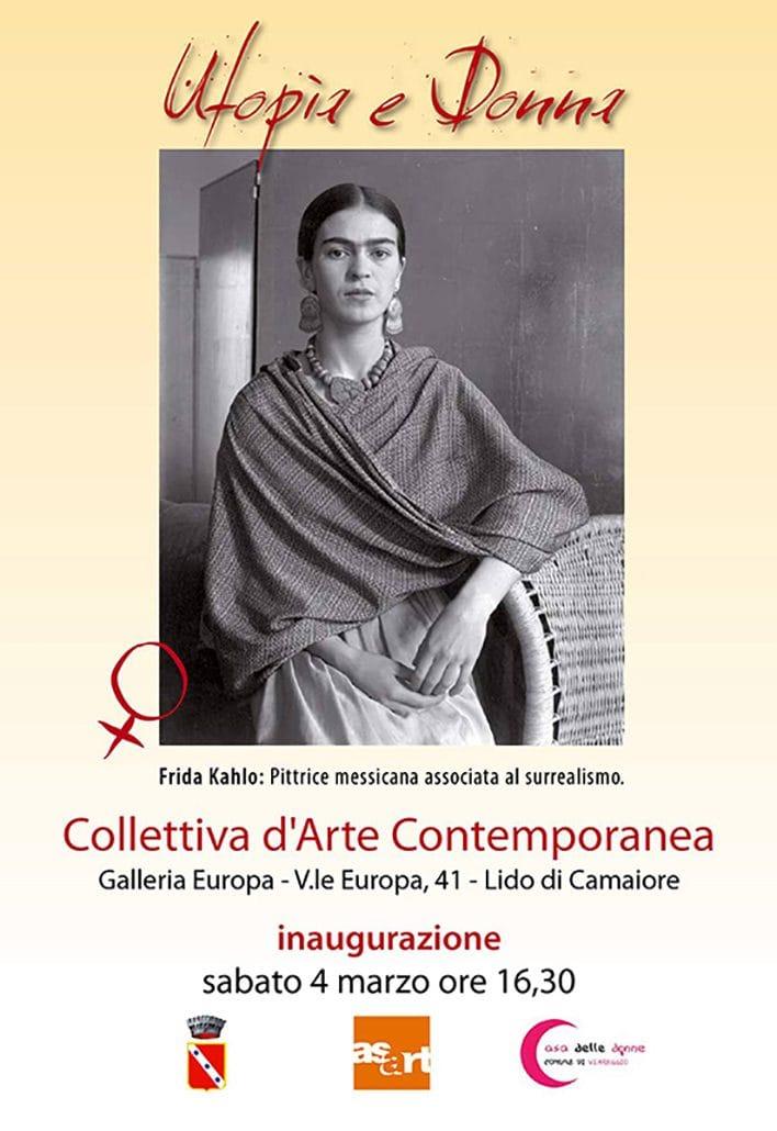Utopia e Donna. Mostra collettiva dei soci di Asart, Galleria Europa, Lido di Camaiore, Italy