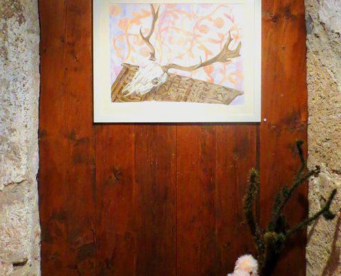 DIE JURIERTE 12. Esposizione collettiva dell' associazione Artischock, Kuesnacht, Svizzera, giugno – luglio 2012