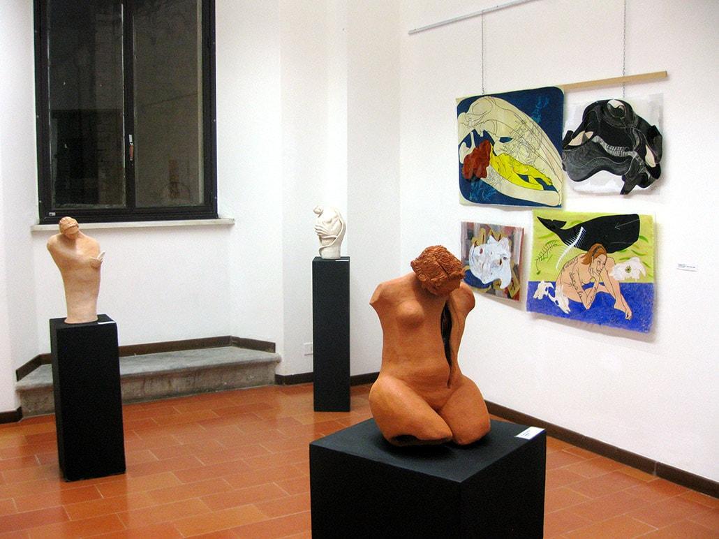 Fragili bellezze 2 – SOS terra, arte, vita. Palazzo Panichi, Pietrasanta, Italy, January – February 2013