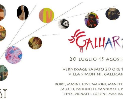 20.7. - 15.8.2013 | Galliart Fantasy | Group exhibition at Villa Simonini | Gallicano, Italy