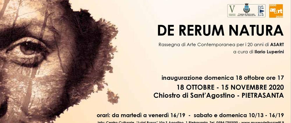 18.10.2020 – 15.11.2020: Group exhibition of ASART in Pietrasanta