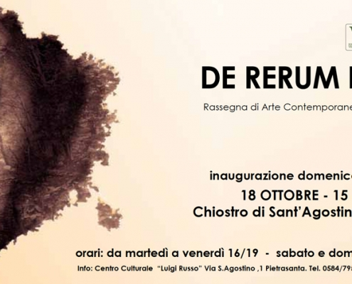 18.10.2020 – 15.11.2020: Group exhibition of ASART in Pietrasanta